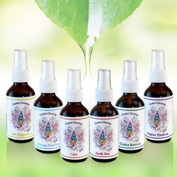 chakra vibrational spray 6 pack