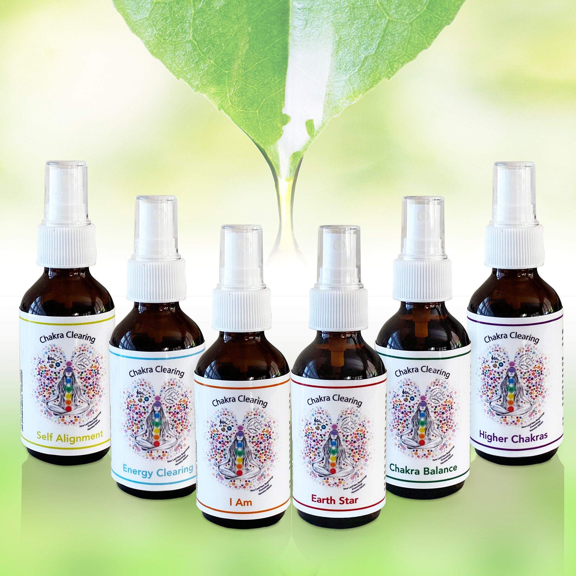 6 Pack Vibrational Sprays