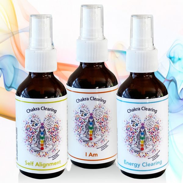chakra energy clearing spray