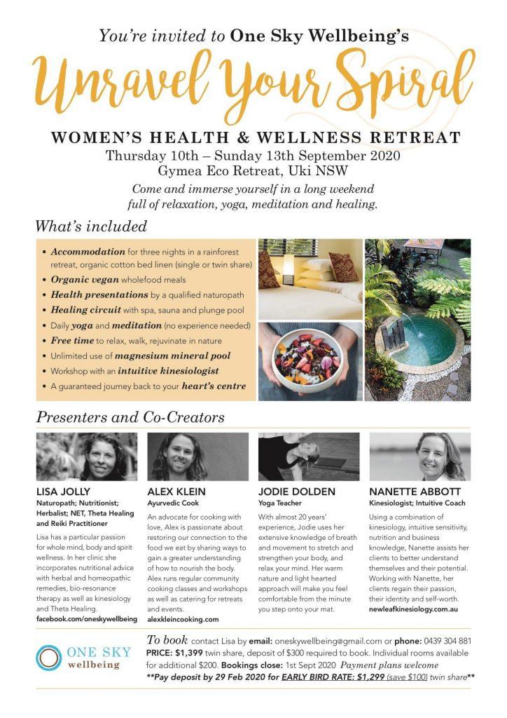 UKI RETREAT Women's Health & Wellness Retreat